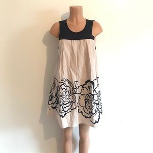 Theory Pleated Flower Dress